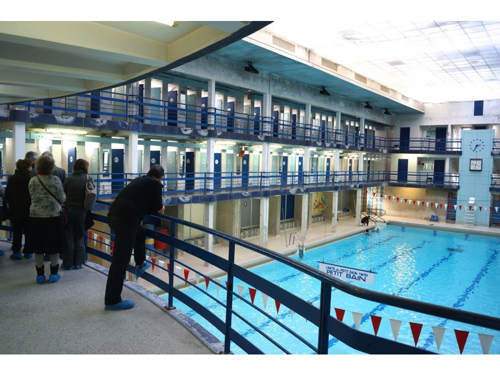 Visite de la piscine leclerc pantin for Piscine leclerc